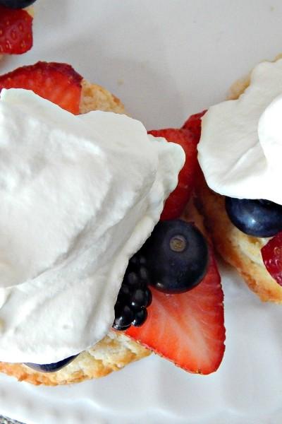 Sweet Berry Shortcakes Recipe