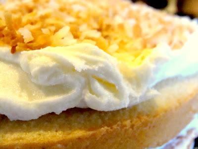 Craving Glazed Coconut Cake