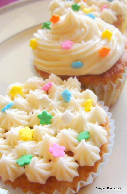 Dreamy Spring Cupcakes