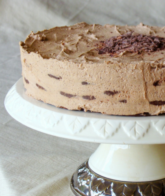 5 Star Mocha Cream Icebox Cake