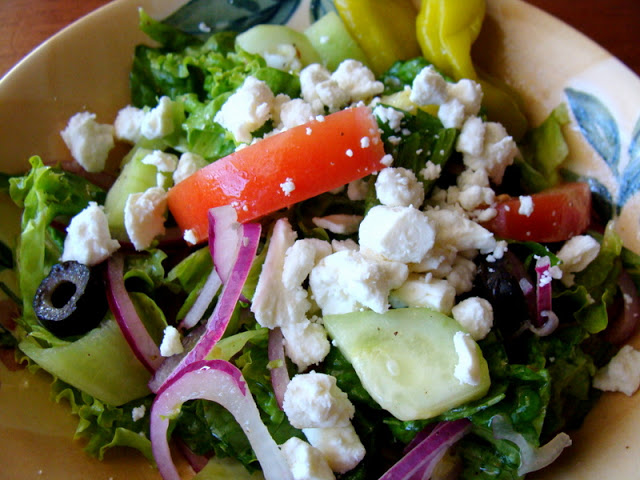 Oregano Overload Greek Salad