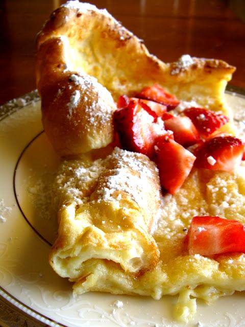 Puffy German Pancake