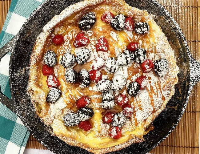 Puffy German Pancake Recipe