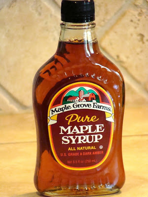 pure maple syrup for fluffy whole wheat pancakes on www.sugarbananas.com
