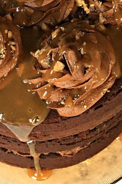 Heath Caramel Layer Cake Recipe