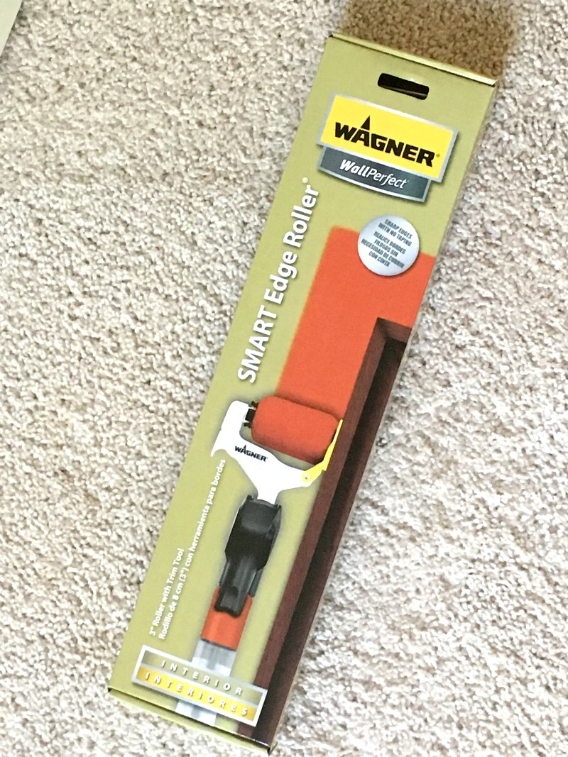 how to paint a room Wagner SMART Edge Roller on Sugarbananas.com