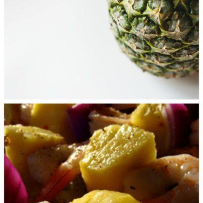 Grilled Shrimp and Pineapple Teriyaki Kebabs Recipe