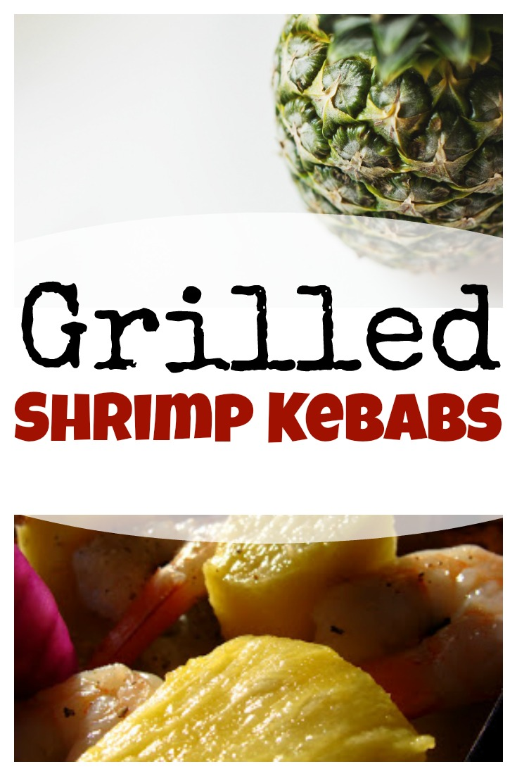 grilled shrimp kebabs on www.sugarbananas.com