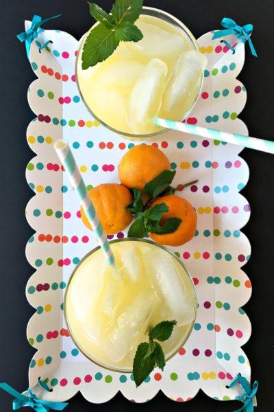 Orange Peppermint Lemonade Recipe