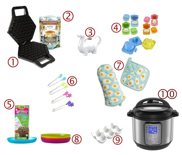 4 Fun Kids' Breakfast Essentials on www.sugarbananas.com