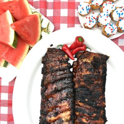 Quick Grilled BBQ Ribs Recipe