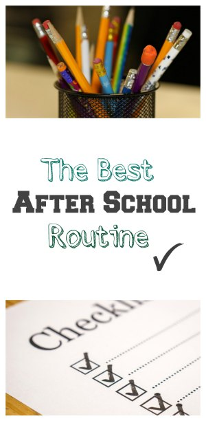 The Best After School Routine from SugarBananas.com