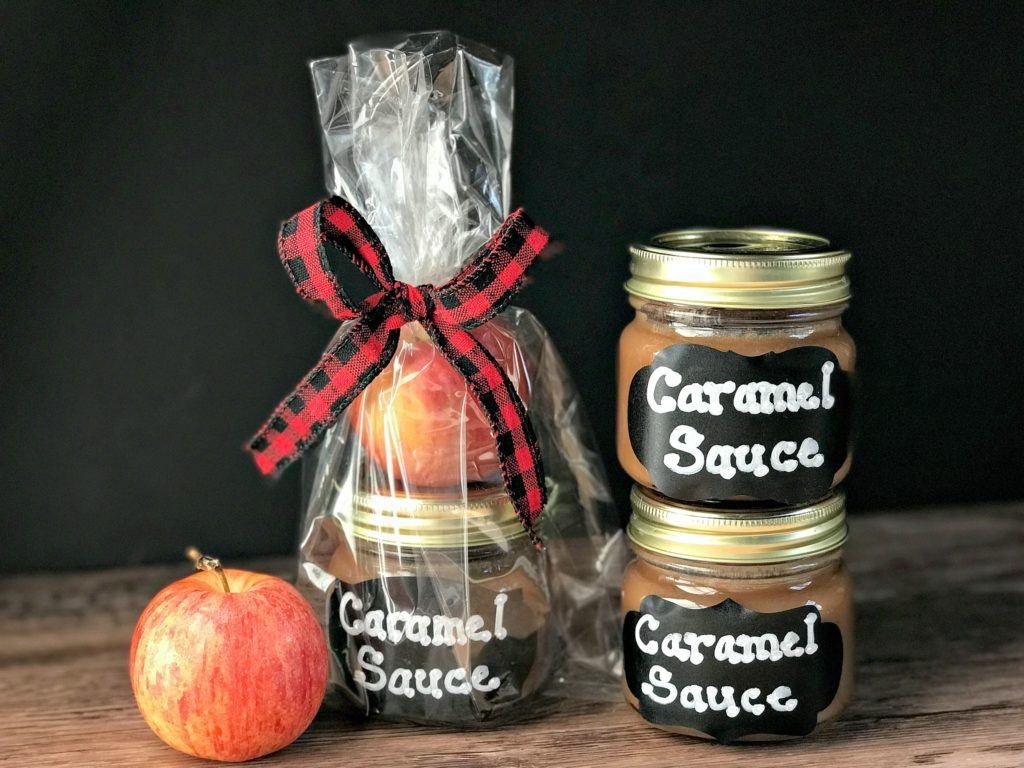 Holiday Food Gift Ideas from www.sugarbananas.com homemade caramel sauce