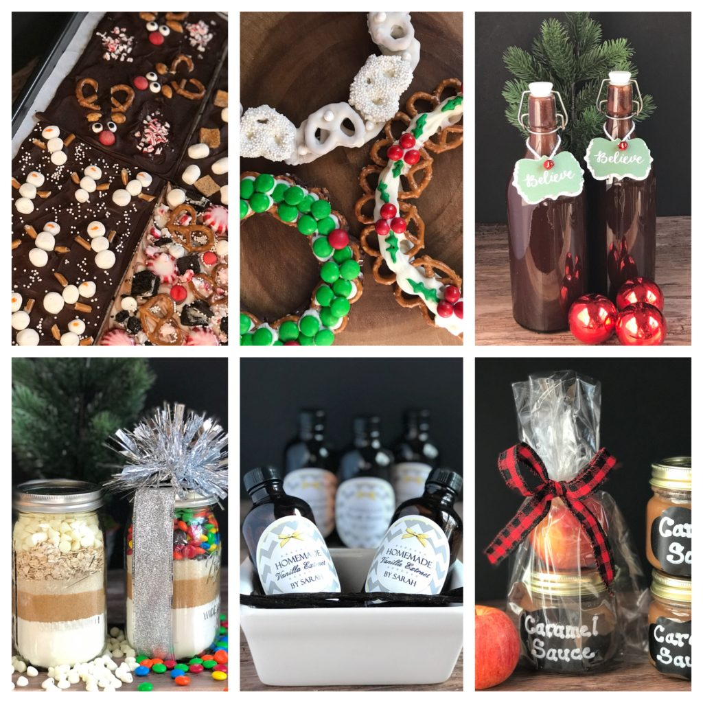 Holiday Food Gift Ideas from www.sugarbananas.com