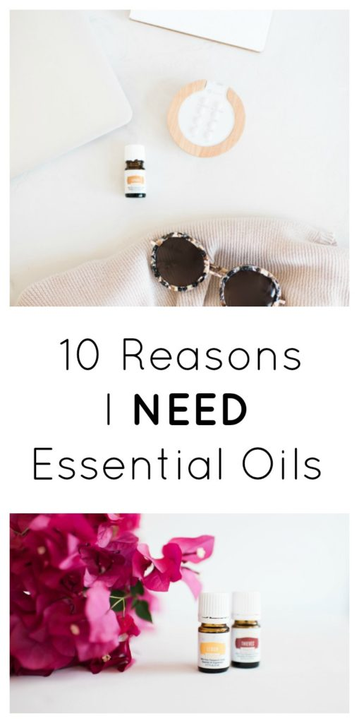10 reasons I need essential oils from sugar bananas.com