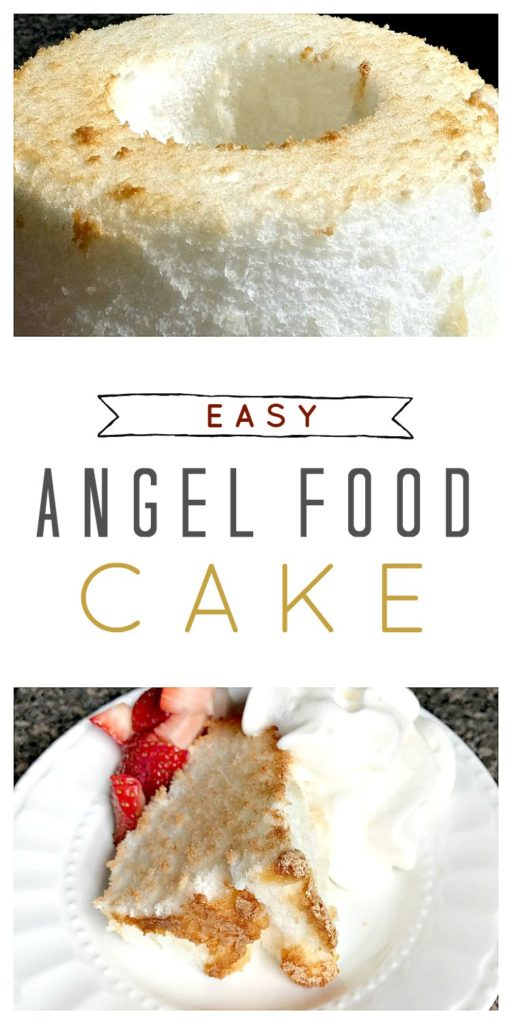 easy angel food cake recipe from sugar bananas